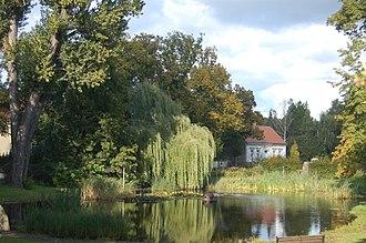 Glienicke/Nordbahn - Image: Dorfteich OHV16548