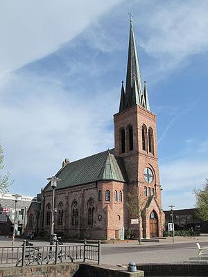 Dorsten - Image: Dorsten, kerk 2 foto 2 2011 04 09 17.11