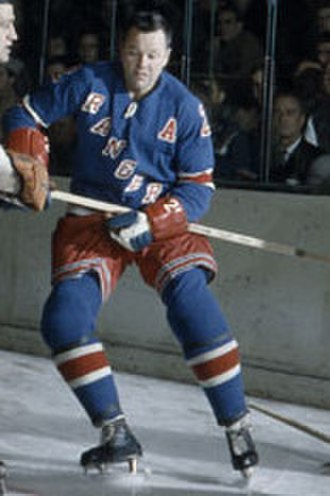 Doug Harvey (ice hockey) - Doug Harvey with the New York Rangers