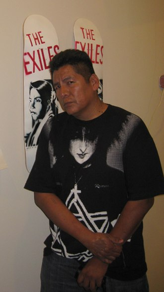Pima people - Douglas Miles (Akimel O'odham-San Carlos Apache), artist, youth advocate, and founder of Apache Skateboard