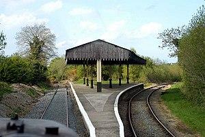 Downpatrick Loop Platform railway station - Image: Downpatrick Loop Platform geograph.org.uk 350087