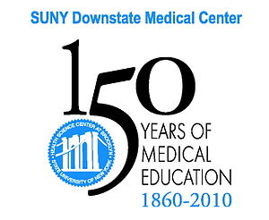 SUNY Downstate Medical Center - Image: Downstate sesqui logo