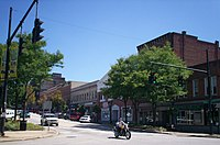 Downtown Kent, September 2009