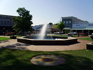 Monticello, Arkansas City in Arkansas, United States