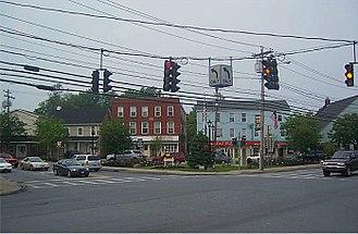 Washingtonville, New York - Downtown Washingtonville