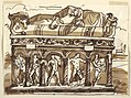 Drawing, A Roman sarcophagus in the Vatican Museum, ca. 1820 (CH 18116727).jpg