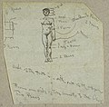 Drawing, Sketch of a Male Nude with Notations, ca. 1860 (CH 18174527).jpg