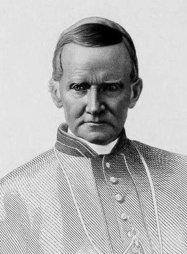 Drawing of John Cardinal McCloskey (cropped)