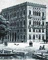 Dresden Venezianisches Haus, Lithographie von W. Bässler, 1850 Löffler, Bildnr. 457.jpg
