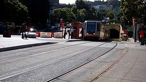 Duboce and Noe station - Image: Duboce Noe MUNI Stop