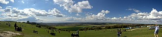 Dunstable Downs - Dunstable Downs panorama