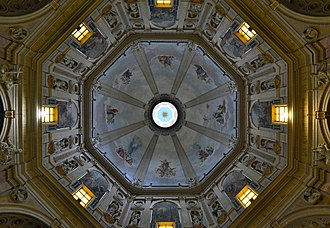 Montefiascone Cathedral - Interior of the Dome.