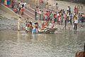Durga Idol Immersion - Ramkrishnapur Ghat - Howrah 2015-10-22 6573.JPG
