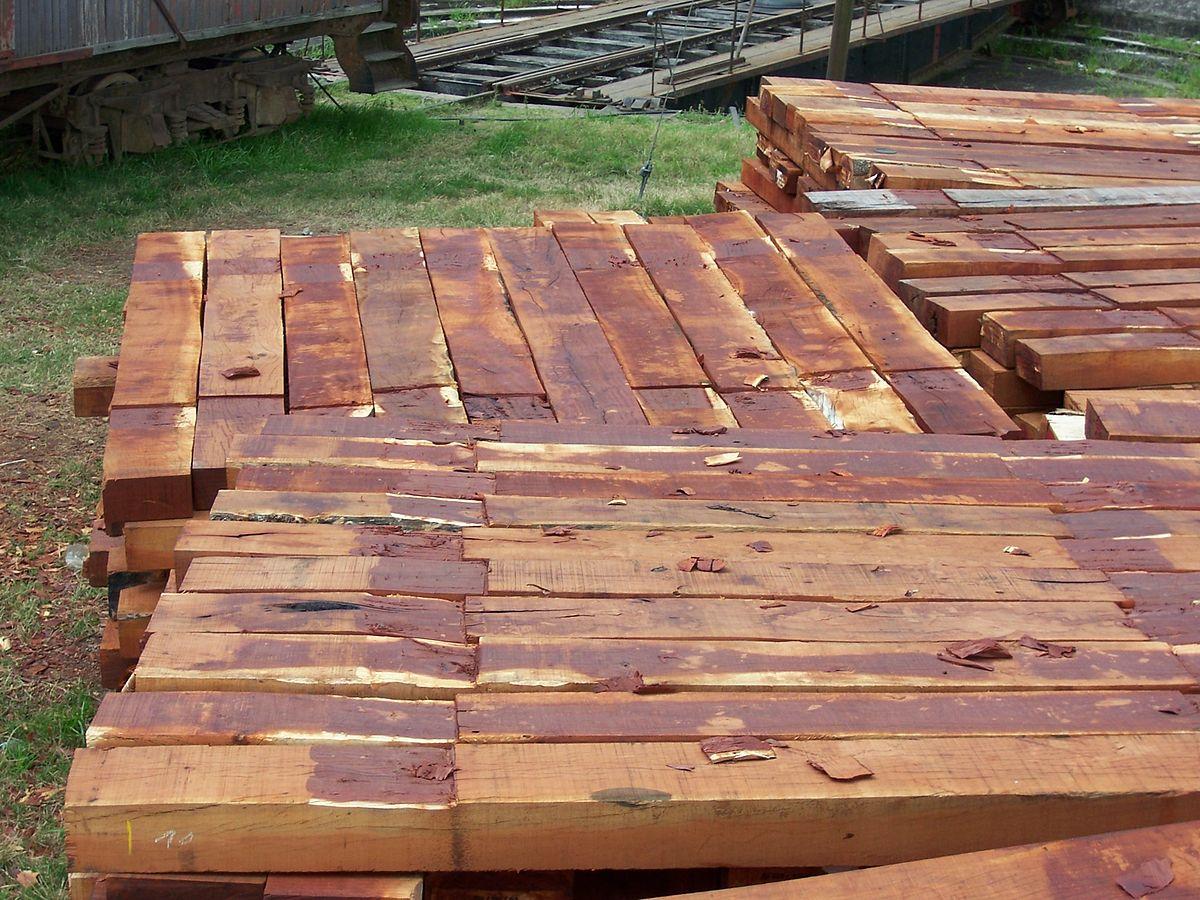 Traviesa de madera wikipedia la enciclopedia libre for Precio zapateros de madera