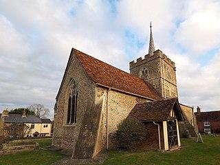 St Johns Church, Duxford Church in Cambridgeshire, England