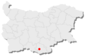 Dzhebel location in Bulgaria.png