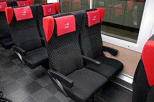 E259 series - Ordinary-class seats