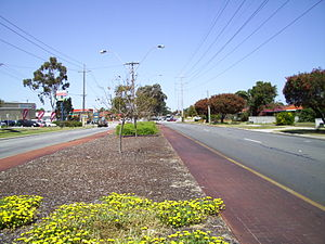 Alexander Drive - Looking south, in Dianella