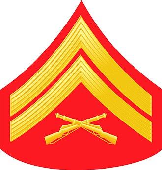 Gene Hackman - Image: E4 USMC CPL