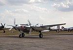EGVA - Lockheed P-38 Lightning - N25Y (29129165517).jpg