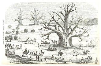 Kordofan - Image: ESCAYRAC(1853) p 500 Planche IX