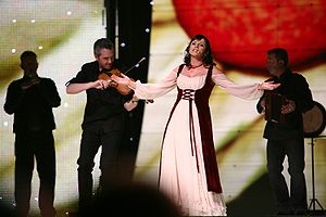 Ireland in the Eurovision Song Contest 2007 - Dervish at the Eurovision final