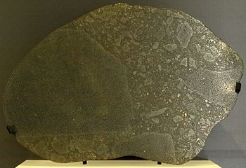 An example of an E-type Chondrite (from the Ab...