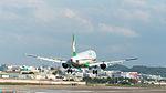 EVA Air Airbus A321-211 B-16203 Final Approach to Taipei Songshan Airport 20150102b.jpg