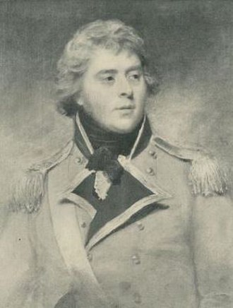 Richard Temple-Nugent-Brydges-Chandos-Grenville, 1st Duke of Buckingham and Chandos - Image: Earl Temple by George Romney