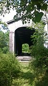 East Shoreham Covered Railroad Bridge