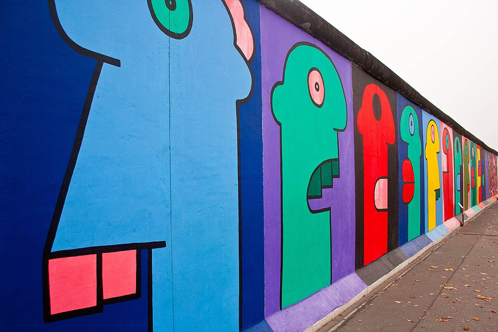East Side Gallery - Thierry Noir - 2011
