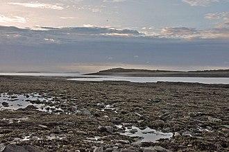 Sully, Vale of Glamorgan - Coastline looking towards Sully Island