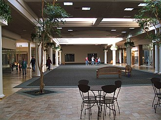 Eastgate Mall (Chattanooga) - Current view from inside Eastgate Mall.