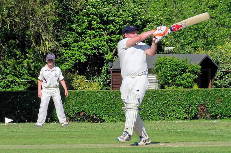 File:Eastons CC v. Chappel and Wakes Colne CC at Little Easton, Essex, England 34.jpg