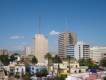 Edificios de San Luis Mexico.