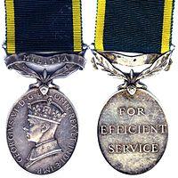 Efficiency Medal (Militia) George VI.jpg