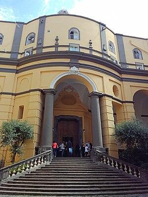 Cosimo Fanzago - Facade for S. Maria Egiziaca