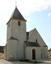The church in Château-sur-Allier