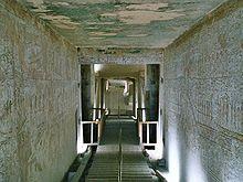Hipogeo de Thutmose III en el Valle de los Reyes