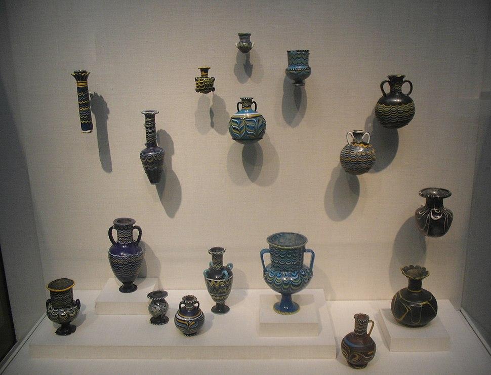Egyptian Miniature Glasswares