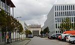 Ehem. Empfangsgebäudes des Flughafens München-Riem 2016.jpg
