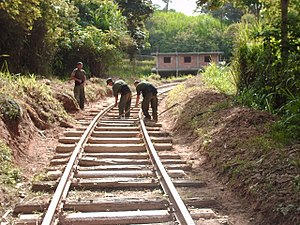 State Railways Institution - Railroad reconstruction, (07/21/2007).