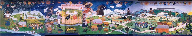 Mural de taniperla wikipedia la enciclopedia libre for Mural zapatista