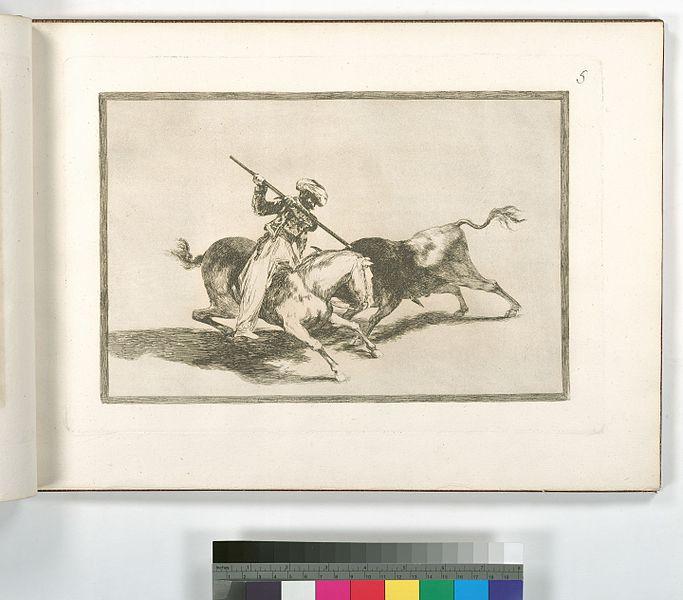 File:El animoso moro Gazul es el primero que lanceó toros en regla (NYPL b14923841-1109411).jpg