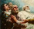 El apóstol Santiago y sus discípulos adorando a la Virgen del Pilar (detalle).jpg