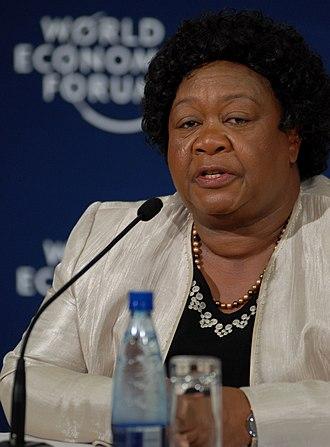 Elizabeth Mataka - Elizabeth Mataka attending the 2009 World Economic Forum on Africa