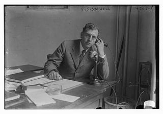 Ellery Cory Stowell American lawyer