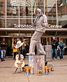 Elvis impersonator at Toronto Eaton Centre.jpg