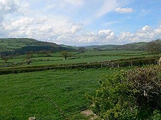 Cefn Meiriadog - Image: Elwy Valley landscape geograph.org.uk 782531