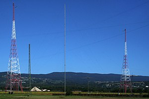 HBG (time signal) - Image: Emetteur HBG Prangins